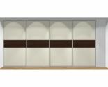 Drzwi przesuwne szerokość 401 - 450 cm 4045d6x4