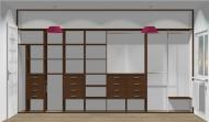 Wnętrze szafy szerokość 400 - 450 cm  4045w19x4