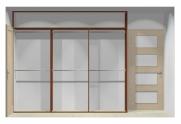 Wnętrze szafy szerokość 271 - 310 cm  2731w21x3
