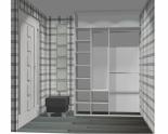 Wnętrze szafy szerokość 161 - 180 cm 1618w25x2