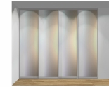 Drzwi przesuwne szerokość 271 - 310 cm 2731d3x4