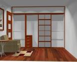 Wnętrze szafy szerokość 310 - 350 cm  3135w39x4