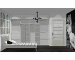Wnętrze szafy szerokość 310 - 350 cm  3135w35x4