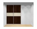 Drzwi przesuwne szerokość 181 - 210 cm 1821d15x2