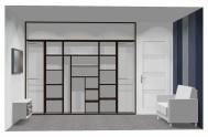 Wnętrze szafy szerokość 271 - 310 cm  2731w5x3
