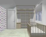 Wnętrze szafy szerokość 181 - 210 cm 1821w11x2
