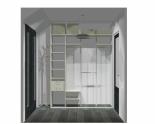 Wnętrze szafy szerokość 161 - 180 cm 1618w22x2