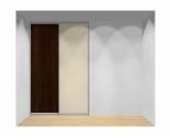 Drzwi przesuwne szerokość 161 - 180 cm 1618d4x2