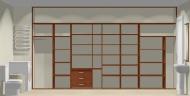 Wnętrze szafy szerokość 400 - 450 cm  4045w23x4