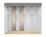Drzwi przesuwne szerokość 161 - 180 cm 1618d3x2