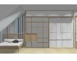 Wnętrze szafy szerokość 310 - 350 cm  3135w46x4