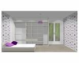 Wnętrze szafy szerokość 310 - 350 cm  3135w9x3
