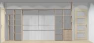 Wnętrze szafy szerokość 400 - 450 cm  4045w8x4