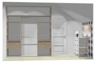 Wnętrze szafy szerokość 211 - 240 cm 2124w22x3