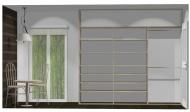 Wnętrze szafy szerokość 271 - 310 cm  2731w23x3