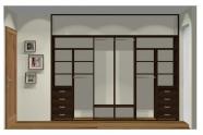 Wnętrze szafy szerokość 271 - 310 cm  2731w14x3