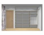 Wnętrze szafy szerokość 241 - 270 cm 2427w2x3