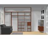 Wnętrze szafy szerokość 271 - 310 cm  2731w51x4