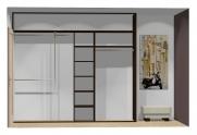 Wnętrze szafy szerokość 271 - 310 cm  2731w24x3