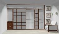 Wnętrze szafy szerokość 350 - 400 cm  3540w4x4
