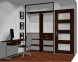Wnętrze szafy szerokość 140 - 160 cm 1416w9x2