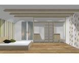 Wnętrze szafy szerokość 310 - 350 cm  3135w11x3