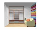 Wnętrze szafy szerokość 241 - 270 cm 2427w3x3