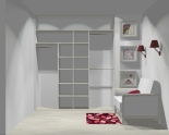 Wnętrze szafy szerokość 181 - 210 cm 1821w5x2