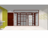 Wnętrze szafy szerokość 350 - 400 cm  3540w8x4