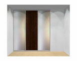 Drzwi przesuwne szerokość 211 - 240 cm 2124d3x3