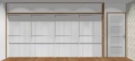 Wnętrze szafy szerokość 400 - 450 cm  4045w15x4