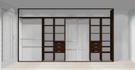 Wnętrze szafy szerokość 400 - 450 cm  4045w3x4