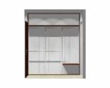 Wnętrze szafy szerokość 211 - 240 cm 2124w9x3
