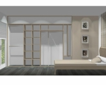 Wnętrze szafy szerokość 310 - 350 cm  3135w26x4