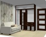 Wnętrze szafy szerokość 181 - 210 cm 1821w23x2
