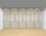 Drzwi przesuwne szerokość 401 - 450 cm 4045d22x5