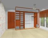 Wnętrze szafy szerokość 310 - 350 cm  3135w3x3