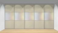 Drzwi przesuwne szerokość 451 - 500 cm 4550d22x5
