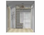 Wnętrze szafy szerokość 140 - 160 cm 1416w22x2
