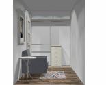 Wnętrze szafy szerokość 161 - 180 cm 1618w18x2