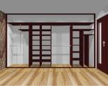 Wnętrze szafy szerokość 350 - 400 cm  3540w9x4