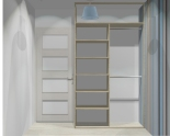 Wnętrze szafy szerokość 140 - 160 cm 1416w4x2