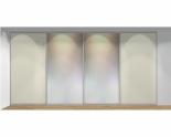 Drzwi przesuwne szerokość 401 - 450 cm 4045d2x4