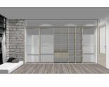 Wnętrze szafy szerokość 400 - 450 cm  4045w18x5
