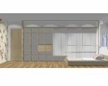 Wnętrze szafy szerokość 450 - 500 cm  4550w17x5
