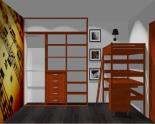 Wnętrze szafy szerokość 181 - 210 cm 1821w53x3