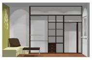 Wnętrze szafy szerokość 271 - 310 cm  2731w20x3