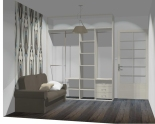 Wnętrze szafy szerokość 181 - 210 cm 1821w2x2