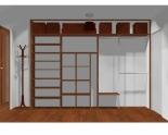 Wnętrze szafy szerokość 310 - 350 cm  3135w32x4