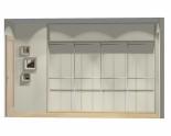 Wnętrze szafy szerokość 271 - 310 cm  2731w48x4